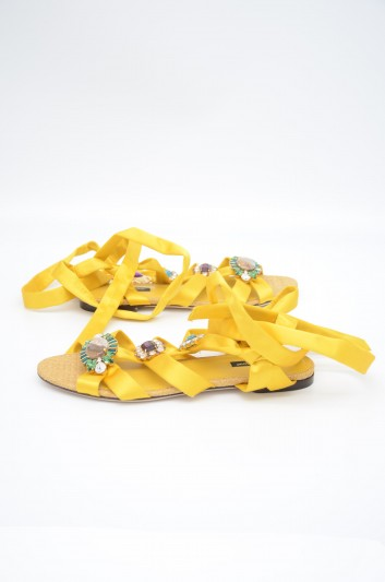 Dolce & Gabbana Women Jewel Sandals - CQ0343 AX639