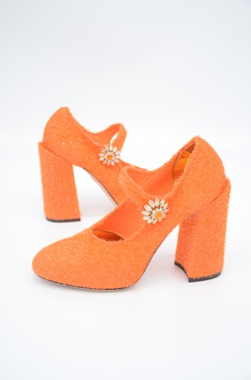 Dolce & Gabbana Women Jewel Heeled Shoes - CD1247 AK398