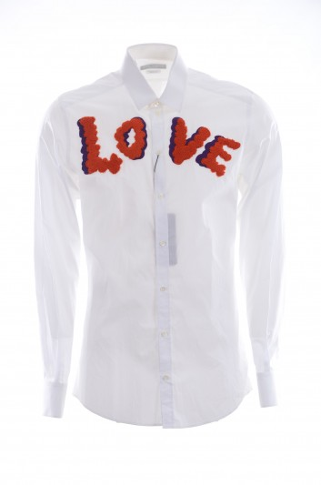 Dolce & Gabbana Men Long-Sleeve Love Shirt - G5EJ0Z GED47