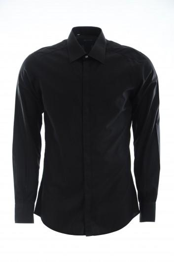 Dolce & Gabbana Men Long-Sleeve Shirt - G5FT0T FU5K9