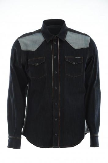 Dolce & Gabbana Men Long-Sleeve Shirt - G5GB1D G8AW4
