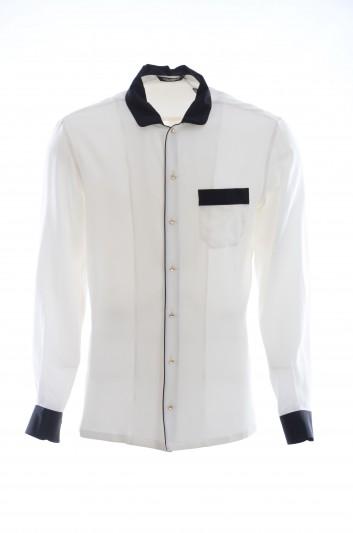 Dolce & Gabbana Men Long-Sleeve Shirt - G5GK5T FU1A8