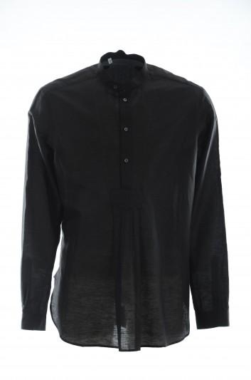 Dolce & Gabbana Men Long-Sleeve Shirt - G5GD7T FU4GK