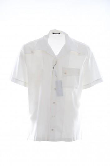 Dolce & Gabbana Men Short-Sleeve Shirt - G5GK2T FU5SE