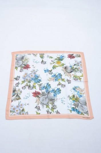 Dolce & Gabbana Fular Floral Seda Mujer - FN092R GDG56