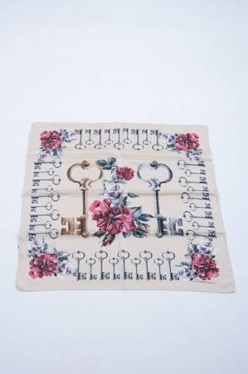 Dolce & Gabbana Women Printed Keys Foulard - FN092R GDG56