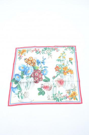 Dolce & Gabbana Women Floral Small Silk Foulard - FN092R GDG56