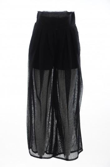 Dolce & Gabbana Women Transparent Trousers - FTBGYT GDN07