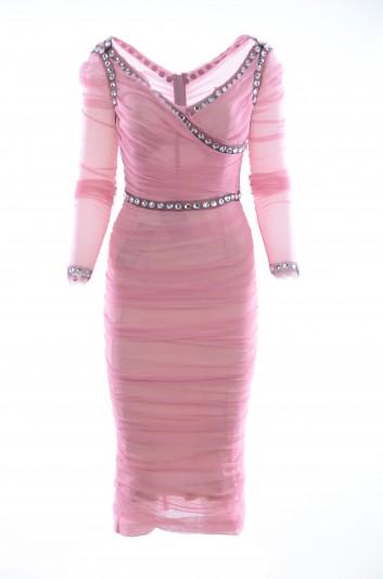 Dolce & Gabbana Vestido Medio Mujer - F69Q2Z FLEAA