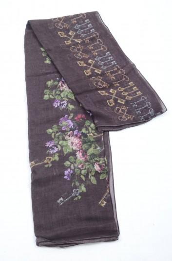 Dolce & Gabbana Fular Floral Mujer - FS184A GDG53