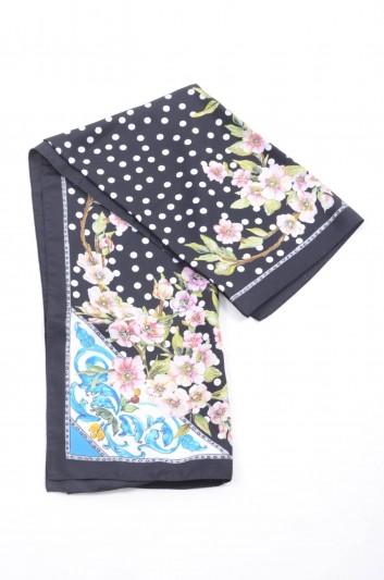 Dolce & Gabbana Fular Seda Floral Mujer - FN090R GDJ77