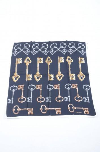 Dolce & Gabbana Fular Pequeño Seda Llaves Mujer - FN092R GDG56