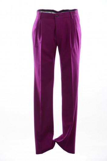 Dolce & Gabbana Pantalones Rectos Hombre - I3646M FU2AX