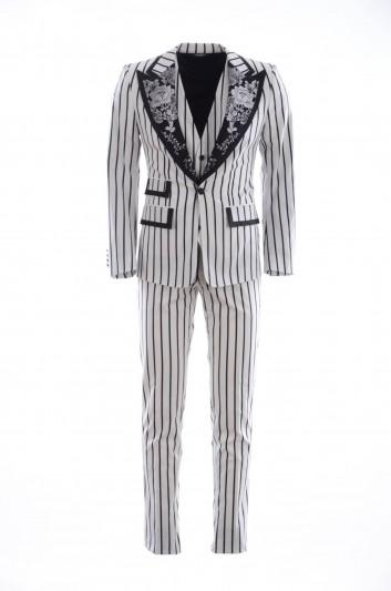Dolce & Gabbana Men Stripped Suit - GK5EMT FSFDC