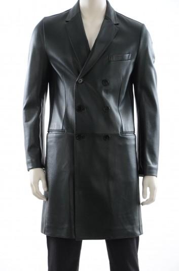Dolce & Gabbana Men Leather Jacket - G0708L FUL1E