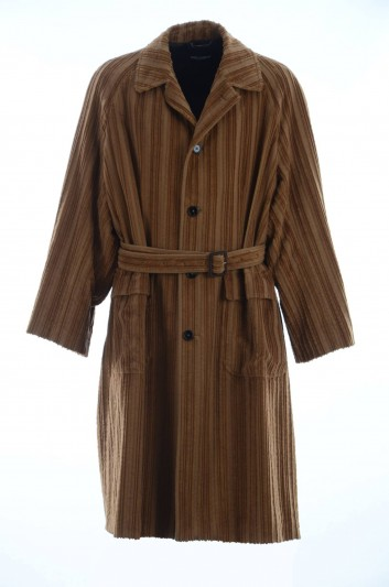 Dolce & Gabbana Men Trench Coat - G025ZT FRVBB