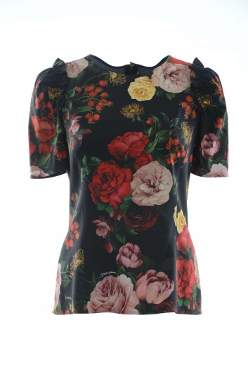 Dolce & Gabbana Women Floral Top - F7ZY1T FSRL5