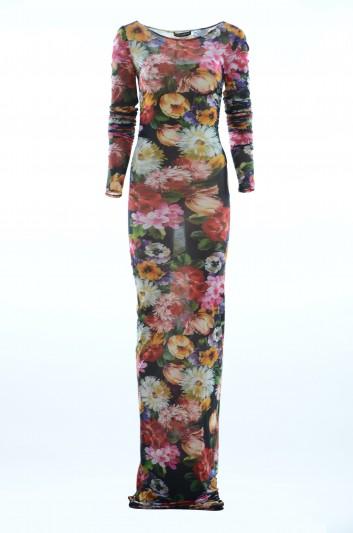 Dolce & Gabbana Vestido Largo Floral Mujer - F6E2AT FSGPZ