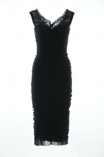 Dolce & Gabbana Women Ruffle Dress - F61T2T FLEAA