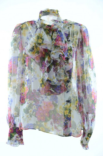 Dolce & Gabbana Women Floral Blouse - F5J39Z HS1U1