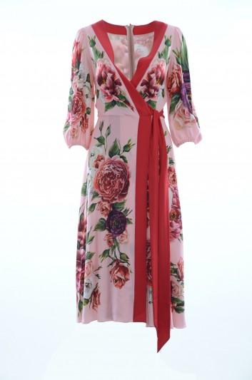 Dolce & Gabbana Vestido Floral Mujer - F69W9T GDJ23