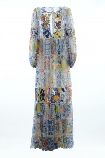Dolce & Gabbana Vestido Majolica Mujer - F69T1Z GD52S