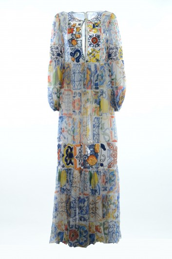 Dolce & Gabbana Women Majolica Dress - F69T1Z GD52S