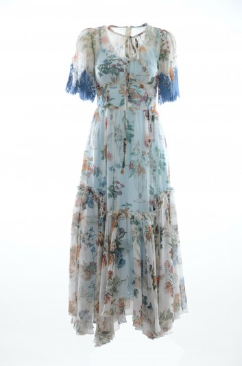 Dolce & Gabbana Vestido Floral Mujer - F6A2MT HS1N8