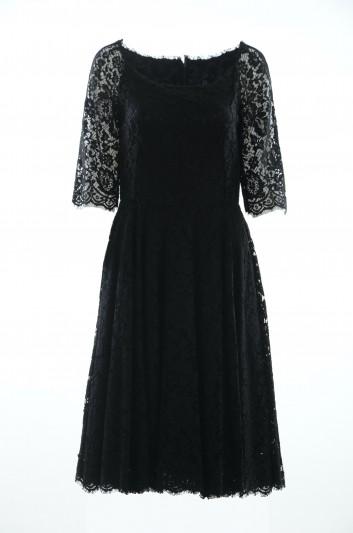 Dolce & Gabbana Vestido Encaje Mujer - F63I1T HLMHW