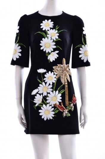 Dolce & Gabbana Women Jewel Short Dress - F6UN5Z GD65L