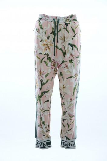 Dolce & Gabbana Pantalones Floral Mujer - FTA1DT FSRLJ