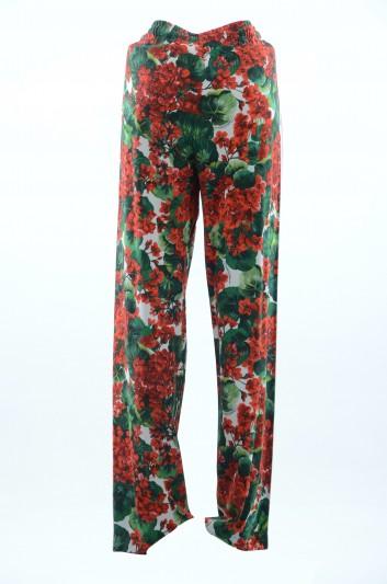 Dolce & Gabbana Pantalones Floral Mujer - FTBBHT FSRKF