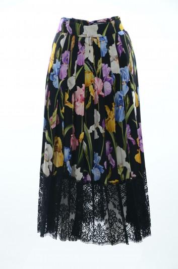 Dolce & Gabbana Falda Floral Mujer - F4BFTT FSAWH