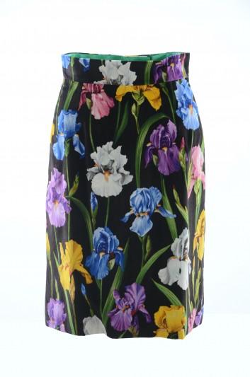 Dolce & Gabbana Falda Floral Mujer - F4BF0T FSVFO