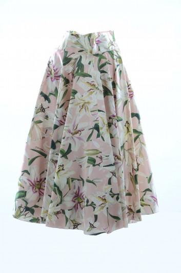Dolce & Gabbana Falda Floral Mujer - F4BL8T HS149