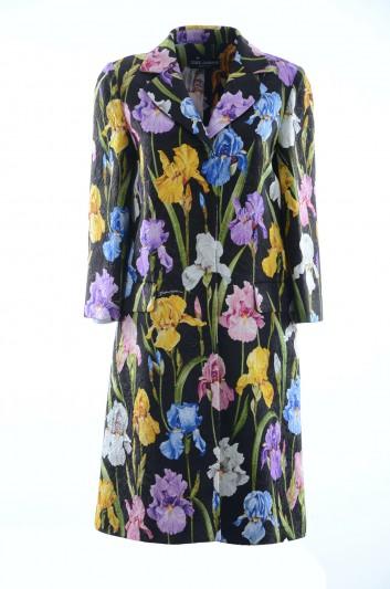 Dolce & Gabbana Abrigo Floral Mujer - F0V01T HSMTI