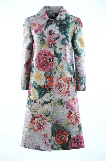 Dolce & Gabbana Abrigo Floral Mujer - F0W98Z HSMU7