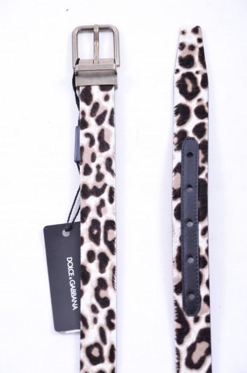 Dolce & Gabbana Cinturón Pelo Hombre - BC3614 AC632