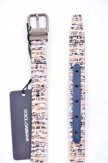 Dolce & Gabbana Cinturón Pelo Hombre - BC3614 AC487