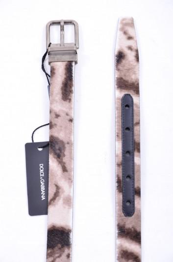 Dolce & Gabbana Cinturón Pelo Hombre - BC3614 AC631