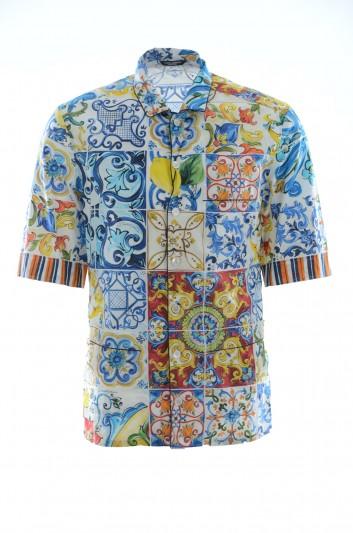 Dolce & Gabbana Men Majolica Shirt - G5FM8T FS59F
