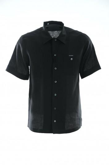 Dolce & Gabbana Men Short-Sleeve Shirt - G5FX9T FU4IK