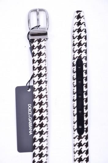 Dolce & Gabbana Cinturón Pelo Hombre - BC3953 AC480