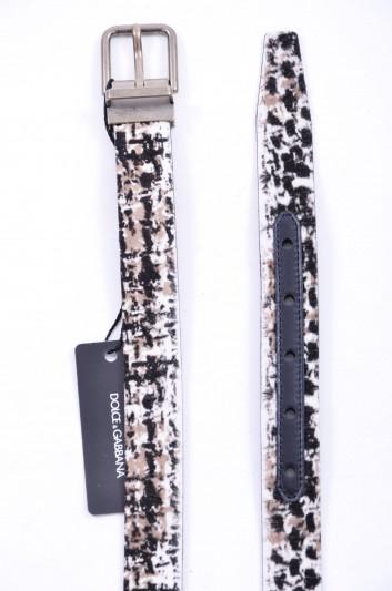 Dolce & Gabbana Men Fur Belt - BC3614 AC477