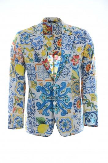 Dolce & Gabbana Men Majolica Blazer - G2MC0T FS59F