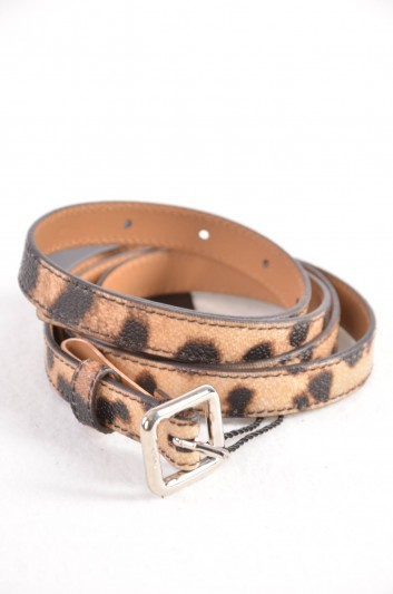 Dolce & Gabbana Women Print Animal Belt - BE1009 B7158