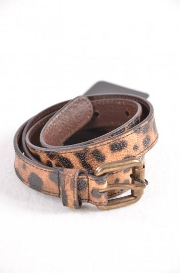 Dolce & Gabbana Women Print Animal Belt - BE1025 B7158