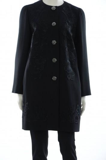 Dolce & Gabbana Women 5 Jewel Buttons Coat - F0Q12Z FUBD2