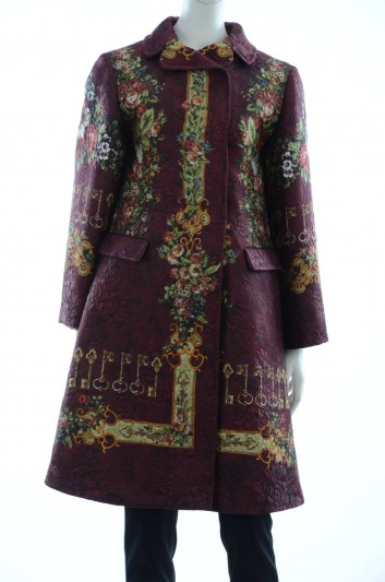 Dolce & Gabbana Women Floral Print Coat - F0K59T FPMLH