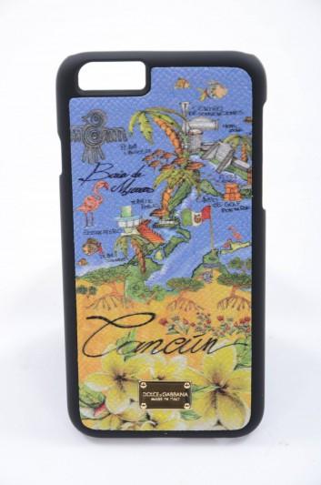 Dolce & Gabbana Women Iphone 6/6s Cancún Map Print Case - BI2123 B3318